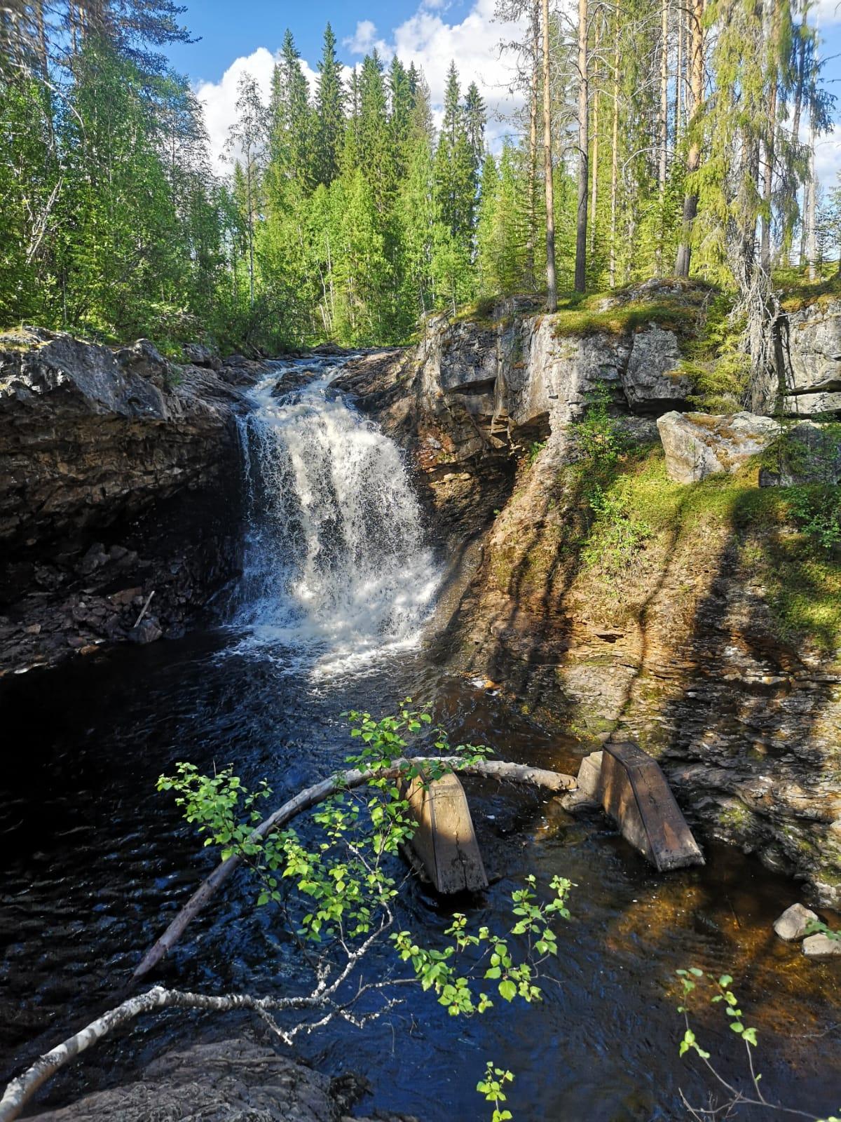 Vattenfall i Bäcka